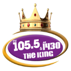 105.5 FM/AM 1430 The King United States of America