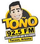Toño 92.5 FM United States of America