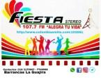 Fiesta Stereo 107.7 FM - Barrancas, La Guajira. Colombia
