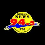 Rádio Integração News FM 94.5 FM Brazil, Goiânia