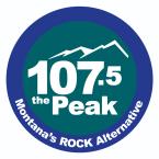 107.5 The Peak 107.5 FM USA, Great Falls