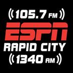 ESPN Rapid City 105.7 FM United States of America, Rapid City