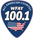 All American Country 100.1 WFAY 100.1 FM USA, Fayetteville