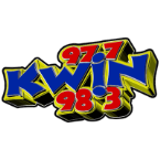 KWIN 97.7 & 98.3 98.3 FM United States of America, Merced