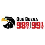 Que Buena 98.9 99.1 FM USA, San José