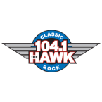 104.1 The Hawk 103.9 FM USA, Merced
