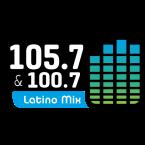 Latino Mix 105.7 y 100.7 100.7 FM United States of America, Santa Rosa
