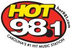 HOT 98.1 94.1 FM USA, Spartanburg