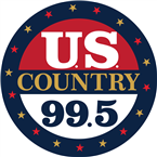 US Country 99.5 99.5 FM USA, New London