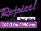 Rejoice 101.3 FM 990 AM 101.3 FM United States of America, Richmond
