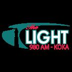 KOKA The Light 93.3 FM USA, Shreveport