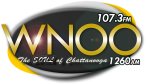WNOO-AM 107.3 FM USA, Chattanooga