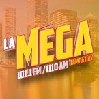 La Mega 101.1  Tampa Bay 101.1 FM USA, Tampa