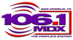 KMDX-FM 106.1 FM United States of America, San Angelo