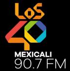 LOS40 Mexicali 90.7 FM 90.7 FM Mexico, Mexicali