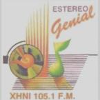 La Genial 105.1 fm (XHNI)Nogales Sonora.Mexico 105.1 FM Mexico, Nogales
