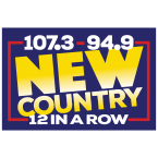 94.9 and 107.3 New Country 107.3 FM United States of America, George