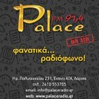Palace 91,4 91.4 FM Greece, Larissa