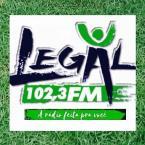Rádio Legal FM 102.3 FM Brazil, Goiânia