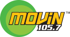 Movin' 105.7 105.7 FM USA, Anchorage