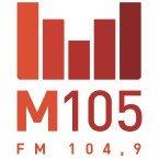M105 - La radio de la Haute-Yamaska et Brome-Missisquoi (CFXM-FM 104.9 FM Canada, Sherbrooke