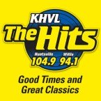 104.9 and 94.1 The Hits 1490 AM USA, Huntsville