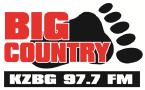 Big Country 97.7 KZBG-FM 97.7 FM USA, Lapwai