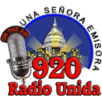 Radio Unida 920AM 98.1 FM United States of America, Manassas