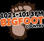Bigfoot Country 102.1 & 101.3 102.1 FM United States of America, Altoona