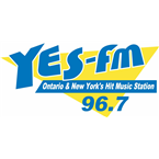 Ontario and New York's Hit Music Station! 96.7 FM USA, Morristown