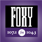 Foxy 107.1/104.3 107.1 FM United States of America, Raleigh