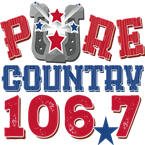 Pure Country 106.7 106.7 FM United States of America, Lafayette