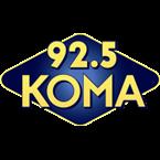 KOMA 92.5 FM United States of America, Oklahoma City