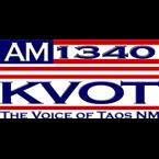 KVOT 1340 AM USA, Taos