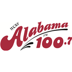 WCKF Alabama 100.7 100.7 FM USA, Ashland