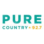 Pure Country 92.7 92.7 FM Canada, Regina