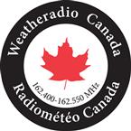 Weatheradio Canada 162.55 VHF Canada, Bay St. Lawrence
