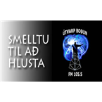 Utvarp Bodun 105.5 FM Iceland, Reykjavík