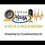 Radio Vigia La Voz de la Policia 840 AM Ecuador, Quito