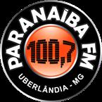 Rádio Paranaiba FM 100.7 FM Brazil, Uberlândia