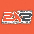 Radio 2X2 102.1 FM Russia
