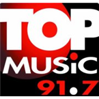 Top Music 91.7 91.7 FM Mexico, Queretaro