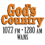 WANS - God's Country 107.7 FM USA, Anderson
