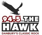 94-5 THE HAWK 94.5 FM USA, Danbury