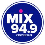Mix 94.9 94.9 FM USA, Cincinnati