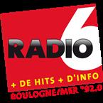 Radio 6 Boulogne-Sur-Mer 92.0 FM France, Calais