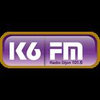 K6 FM 101.6 FM France, Dijon