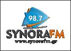 SYNORAFM 98.7 92.2 FM Greece, Thessaloniki