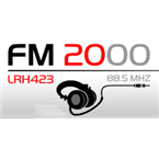 FM2000 88.5 Mhz 88.5 FM Argentina, Leandro N. Alem