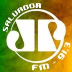 Rádio Jovem Pan FM (Salvador) 91.3 FM Brazil, Salvador